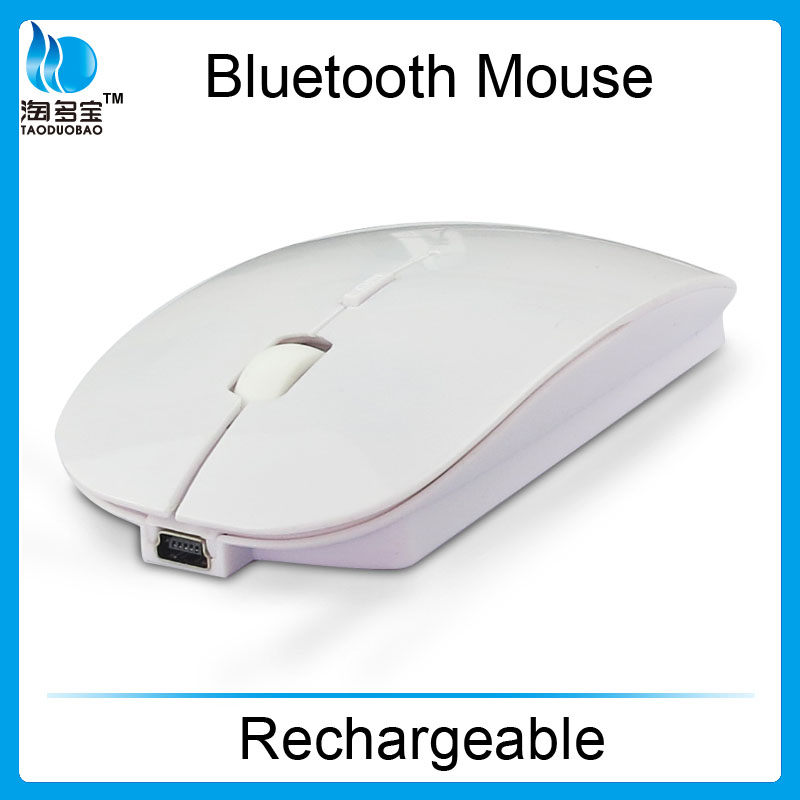 rechargeable wireless mouse_mini slim wireless bluetooth mouse from ISO factory