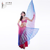 2094-3 Gradually changing color bellydance isis wings dance accessory