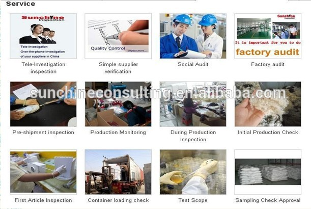 Professional and high quality Factory Audit for Chinese factory industry products inspection