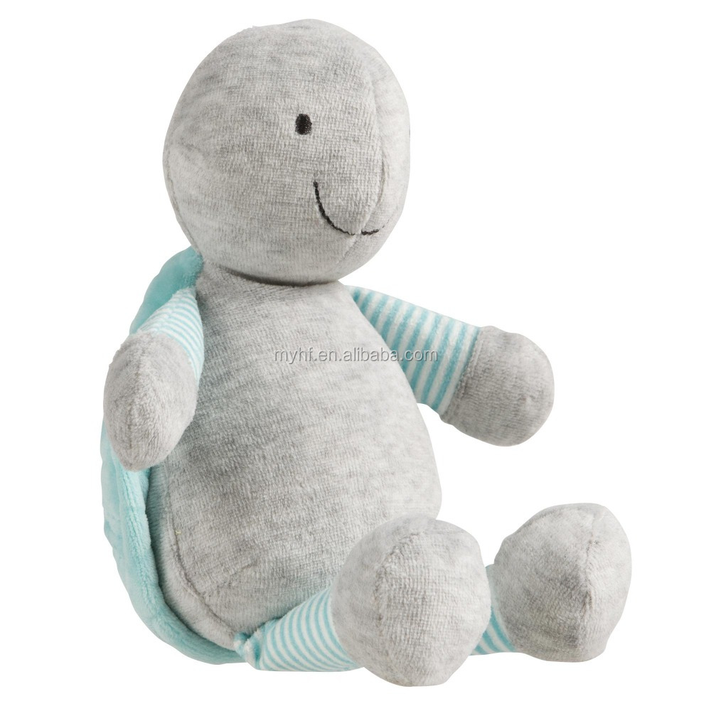 OEM online shopping Design blue house turtle plush baby toys