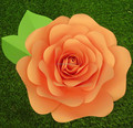 Wedding decoration giant paper flower for whole sale WFAG-03