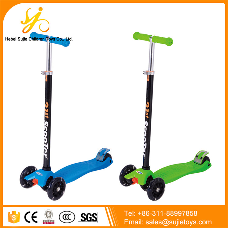 best quality kiddie kick scooter / metal toy kids scooter / foldable landwalker children scooters for sale with cheap price