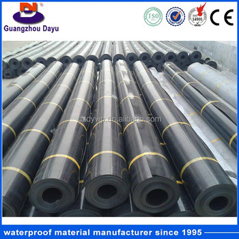 High Strength Long Lifespan HDPE Roll for Roofing / Pond Liner
