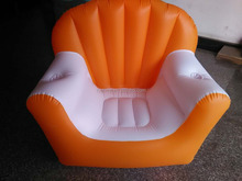 China New model inflatable sofa furniture, promotional air beach sofa
