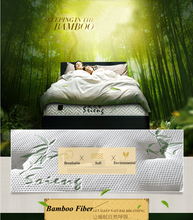 High Density Memory Foam Coconut Palm Charcoal Bamboo Mattress Pad