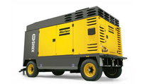 12bar XAHS950 (XAHS447) Atlas Copco portable screw Air Compressor hot sell