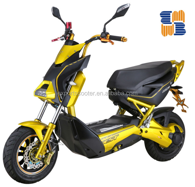 NEWEST design lead-acid battery 60v 20Ah electric motor scooter for adult in China BATTERY POWERED