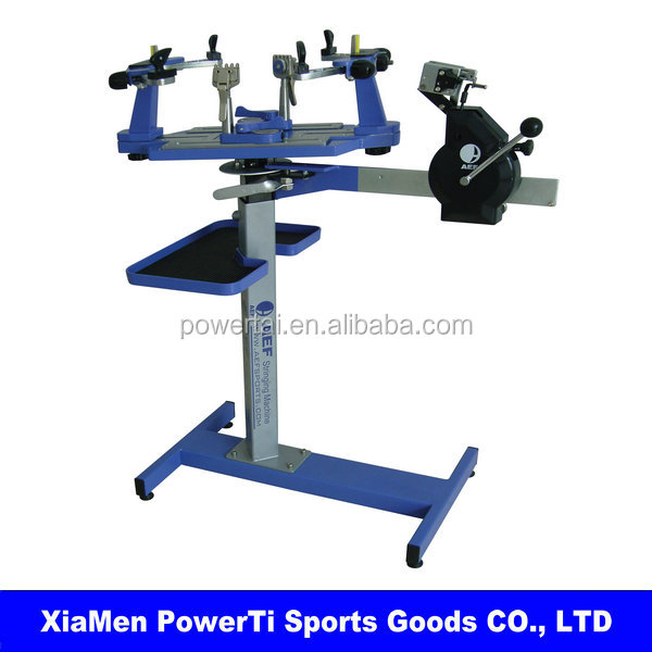 036 table manual/electric tennis/badminton dual-use stringing machine with free tool set EGRET300H