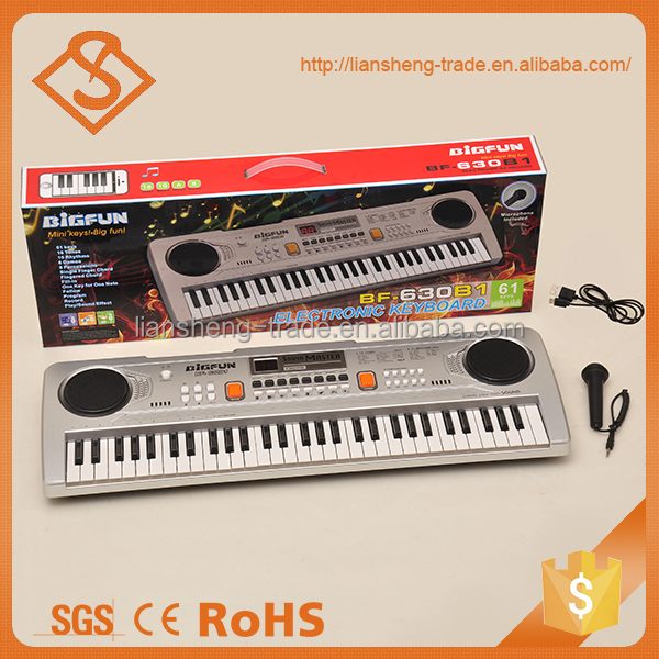 Best quality kids musical product 61-keys electronic keyboard
