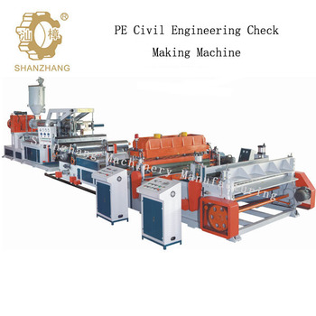 0.3-1.5mm Thickness of PE Geocell Production Line