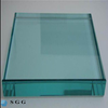 Shenzhen factory price good quality 19mm clear hardened glass