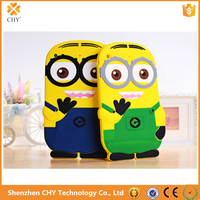 3D Cute Cartoon Despicable Me Minion Soft Silicone Cover Case For Apple ipad mini