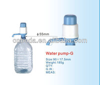 bottled drinking hand manual bottle pumps for water