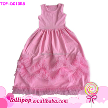China wholesale kid clothing summer 1 year old baby party girls one piece dress cute girls frocks designs latest