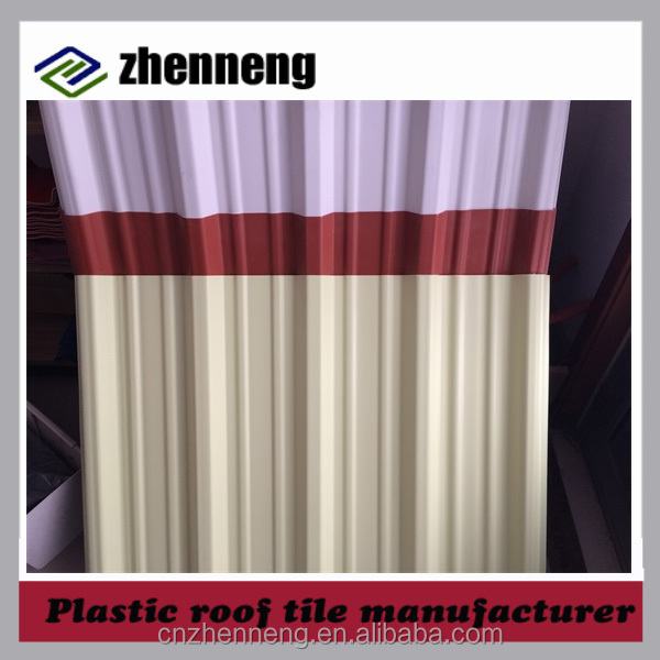 best price plastic pvc roofing sheet corrugated resin tile