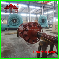 water turbine generator with vertical shaft