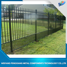 Decorative Modern corrugated metal fence panels and livestock metal fence panels, aluminum picket fence