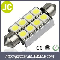 Vehicle light one year warranty 12v automobile festoon light cob for toyota commuter