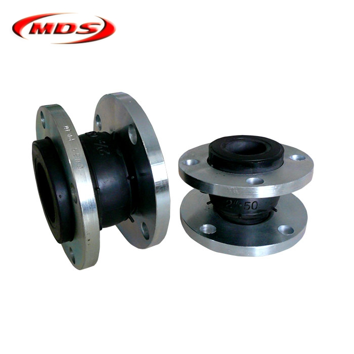 Factory price DN100 rubber sphere EPDM flexible rubber expansion joint PN16