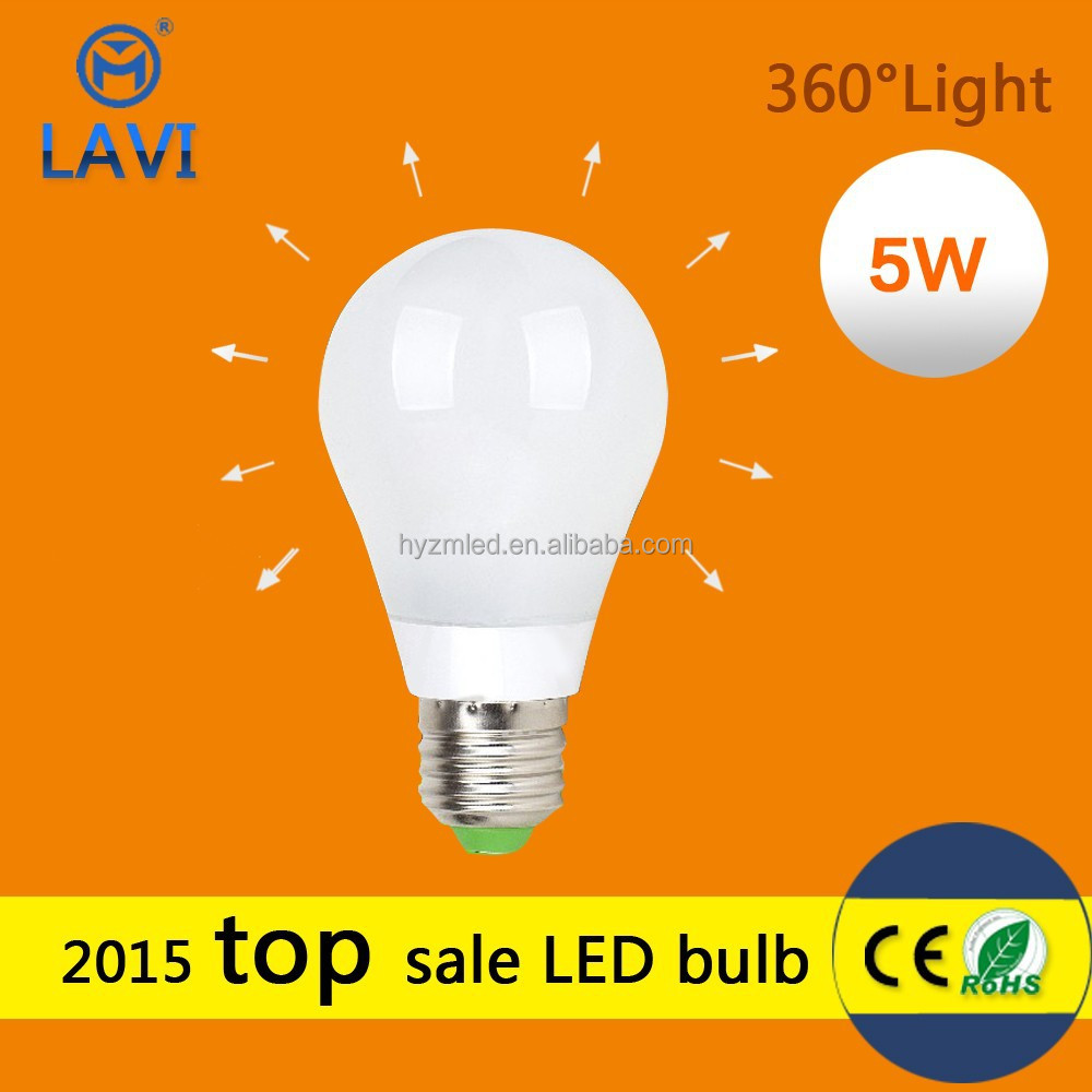 Alibaba China long lifespan 50000hrs energy saving e27 led light bulb for table lighting