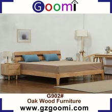Goomi Solid Wood Home Use Bedroom Furniture G902# pictures of wood double bed