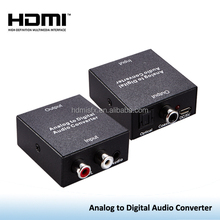 cctv convertitore analogico-digitale,converter analog audio signals from L/R input to Coaxial S/PDIF and Toslink Optical outputs