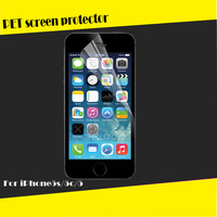 Crystal Clear For iPhone 5 Screen Protector, with High Quality Clear Screen Protective Film