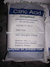 popular citric acid anhydrous / mono USP / BP grade --