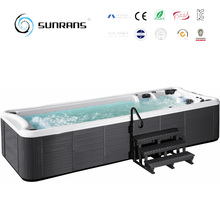high quality Outdoor whirlpool used swim spa endless swim pool swimming pool 4 persons for home