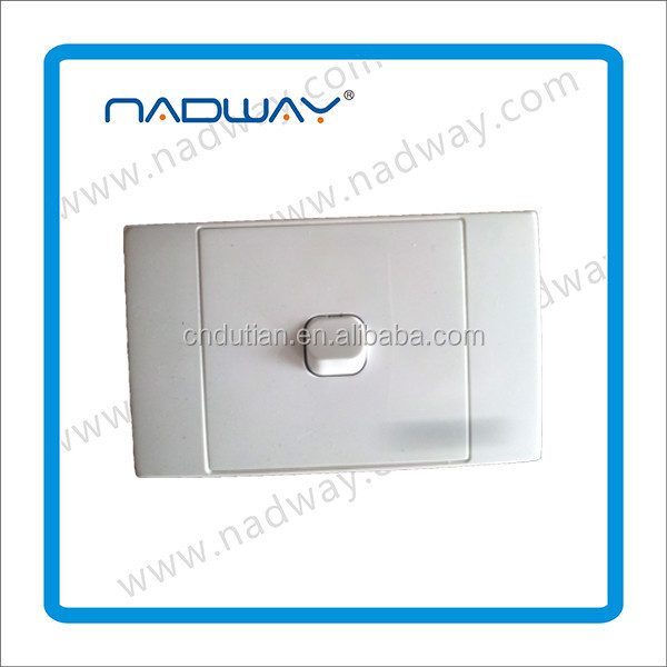 SAA single powerpoint with lan wall socket AUS standard Nadway