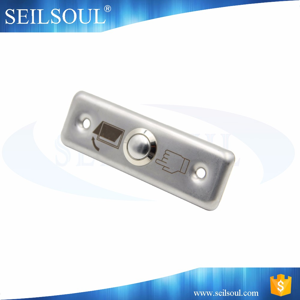 Best cheapest stainless steel entrance guard door access door release push button switch