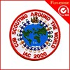 customized embrodery labels machine designs in patches