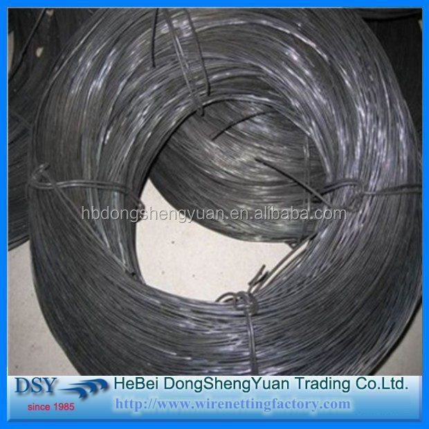 2016 high quality 18 gauge black annealed wire with lowest price