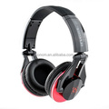 Studio headphone with microphone for mobile phone, Foldable DJ headset