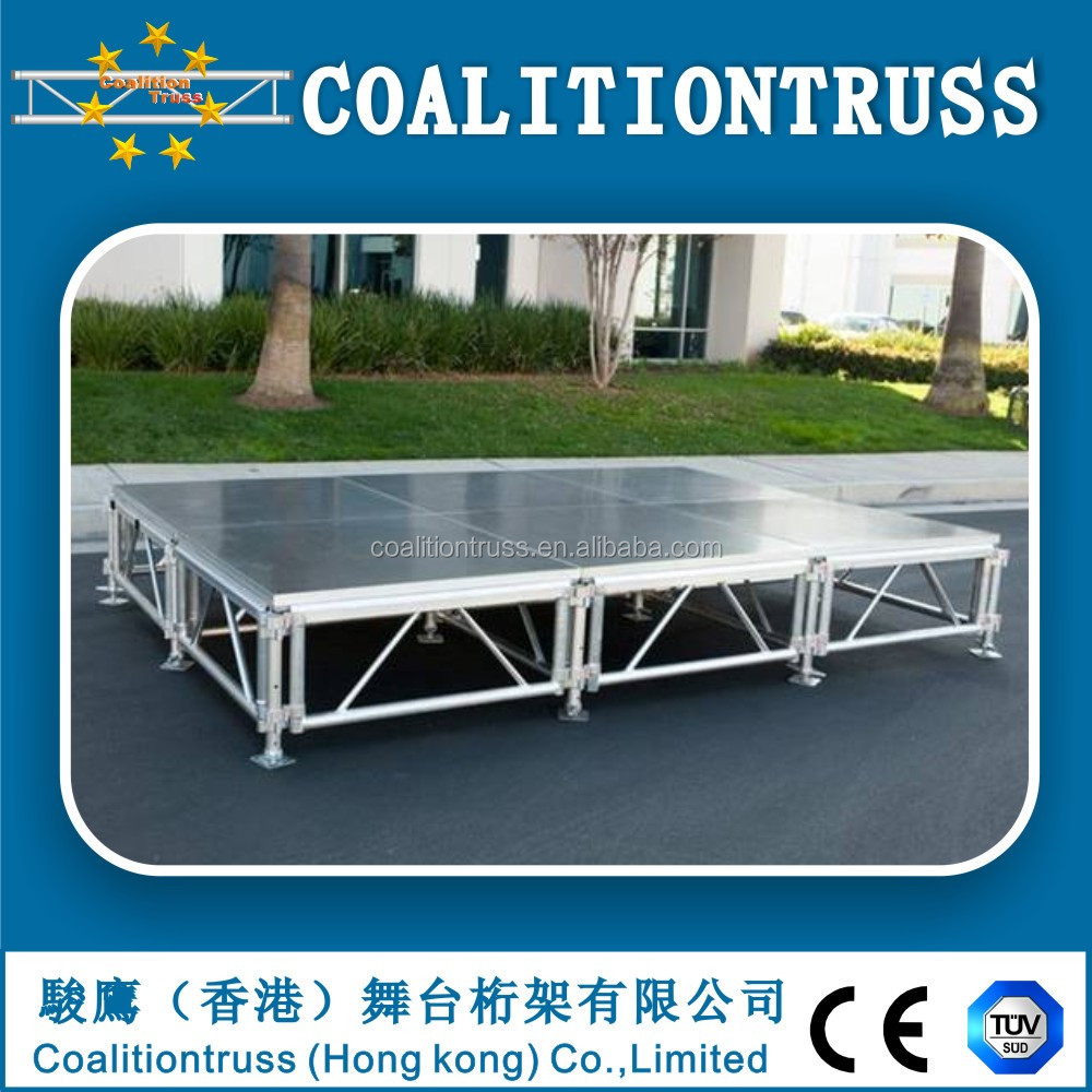 4ftx8ft Portable stage,stage platform,out concert stage sale