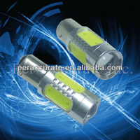 TOP Quality 1156 1157 7.5W with Convex lens led lamp ba15d led headlamp