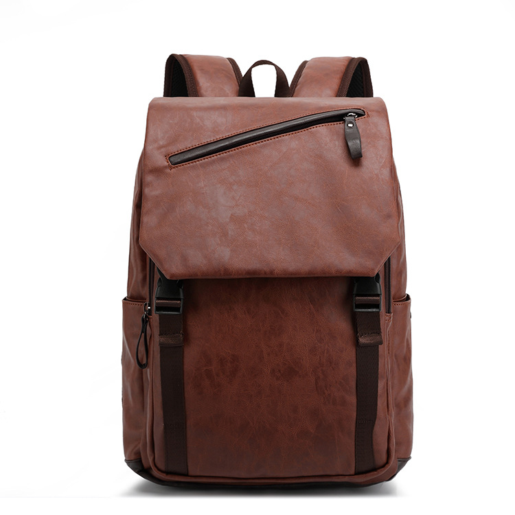 wholesale popular men backpack bags genuine Leather