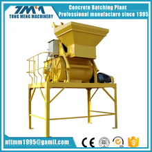 High quality JS500 concrete mixer with lift hopper/ cement mixer