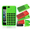 Original Official Soft Silicone Case for iphone 5C with 35 holes