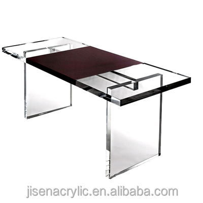 new wholesale Clear Acrylic Computer TV Monitor Stand Table