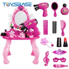 Maquillaje De Juguete - Hot Sale Lovely Dresser Table Plastic Makeup Toy