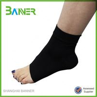 Qualified useful compression nylon knitted elastic sports ankle support
