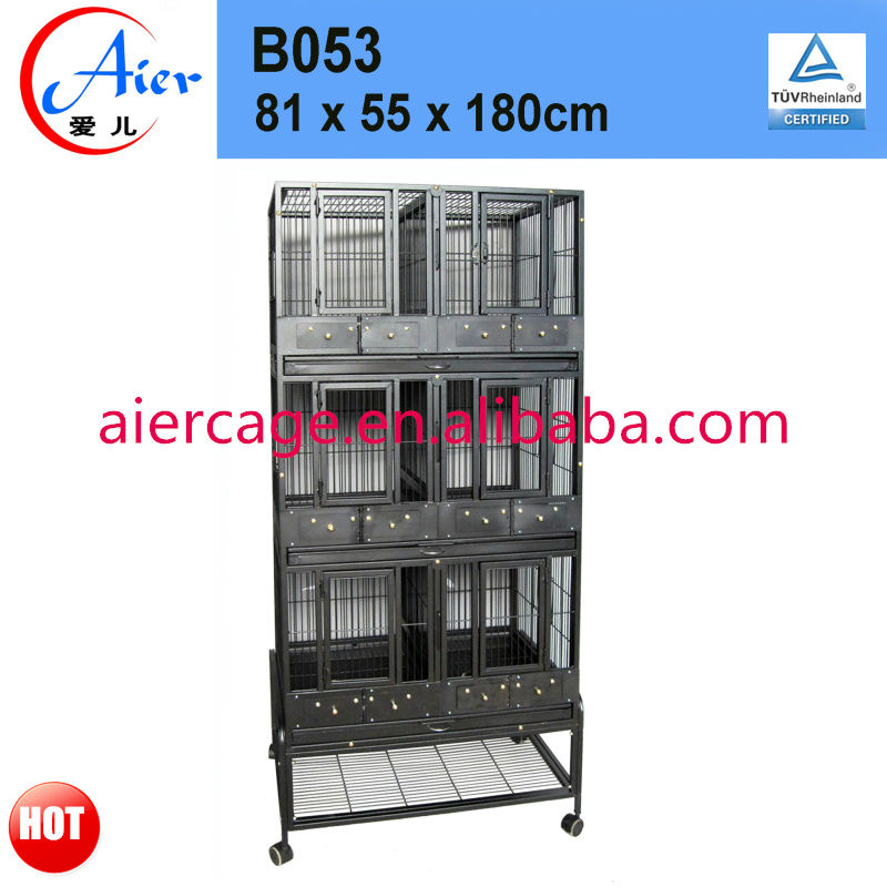 metal pigeon cage with stand