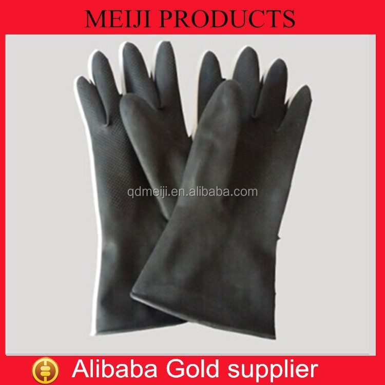 2015 chemical gloves long rubber gloves for feet high quality gloves