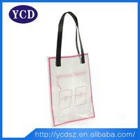 white pvc foldable reusable cheap reuseable shopping bag
