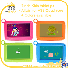 "2017 New Kids 7"" Inch Tablet PC Android with Wifi Dual Camera 8G Storage Laptop Computer"