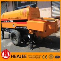 New small mobile electric engine concrete pump trailer for sale HBT40-8-45ES