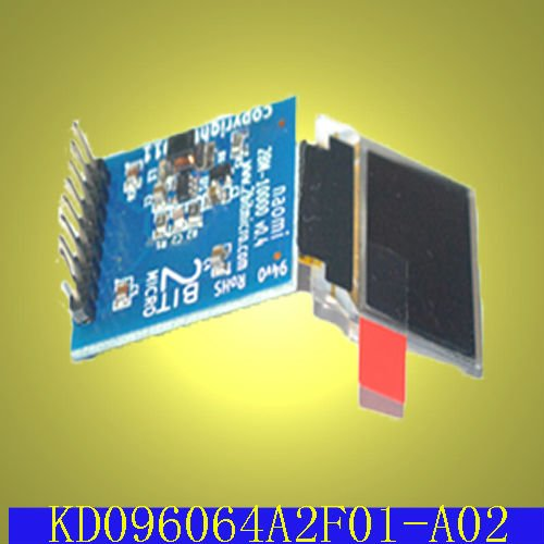 0.96 inch OLED display module,96*64,driving board option,8 bit MCU interface,SPI interface,Driver:SSD13312