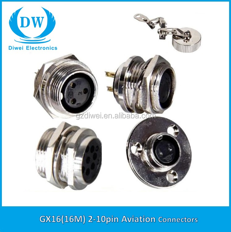 Gx aviation metal connector male female electric