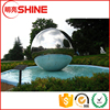 SGS certificated 2M large high polished stainless steel hollow garden decoration ball